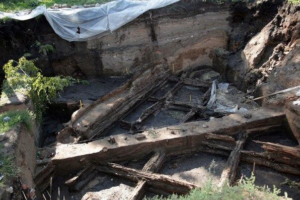 В историческом центре Самары нашли уникальные остатки древних сооружений  2