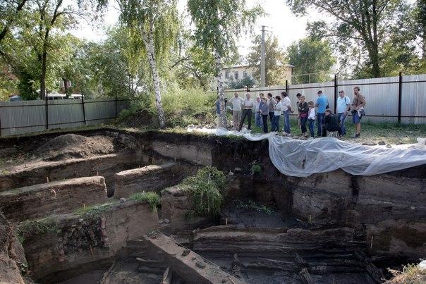 В историческом центре Самары нашли уникальные остатки древних сооружений 1